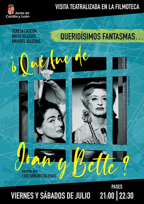 Cartel Joan y Bette